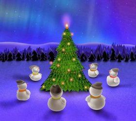 Новый Год стучится в двери! - праздничные частушки для детей