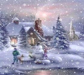 Мороз, метель и вьюга в зимних загадках для детей