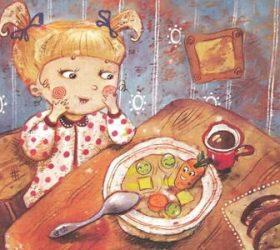 Что сегодня на обед? - потешки и прибаутки для малышей про еду