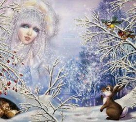 Идет Волшебница-Зима! - стихи про зиму для детей