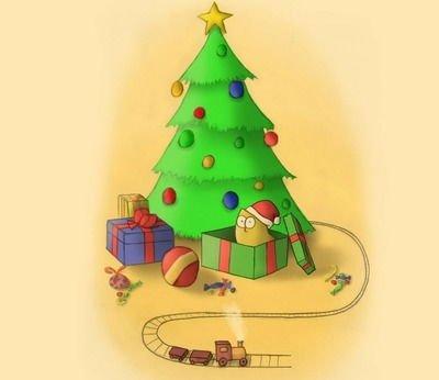 Ну и елка, просто диво! - стихи про ёлку для детей