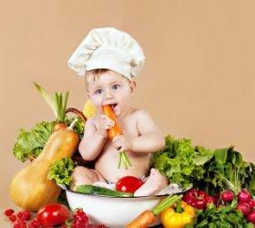 Фрукты и овощи в потешках для малышей