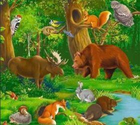 Зоологическая азбука в веселых стихах для детей