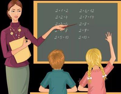 Учитель — детские стихи о труде и профессиях
