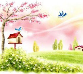Азбука весны в веселых стихах для детей
