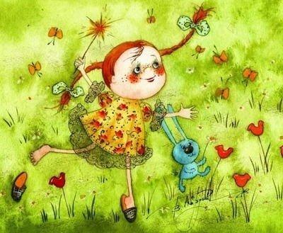 Вышло лето на поля! - стихи про июнь для детей