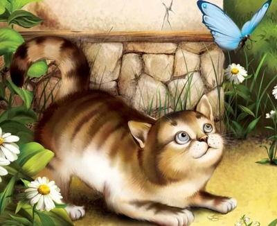 Купите мне котёночка! — стихи про кошек для детей ,