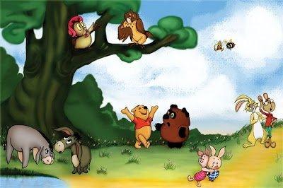 Винни-Пуха и его друзья в веселых загадках для детей