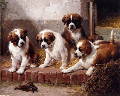 Бочонок собачонок — смешные небылицы в стихах для детей