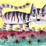 Кот-Муркот  (Считалки с кошками)