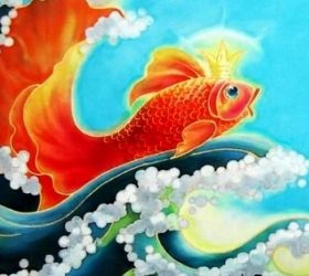 Я владычица морская! - стихи про золотую рыбку для детей