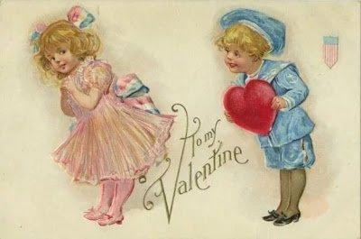 В Валентинов светлый день…. — детские и школьные частушки