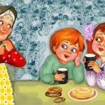 Детям нравятся блины - стихи для детей на Масленицу