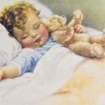 Укладываем малыша спать. Стихи и потегки