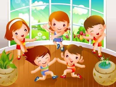 Утренняя зарядка в детском саду - стихи для детей