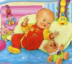 Ручки, ножки, пальчики! - стихи и потешки для малышей