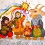 Частушки на Коляду для детей