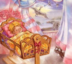 Ходит сон у окон! - короткие потешки перед сном для малышей