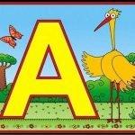 Стихи про букву А для детей