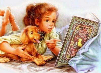 Дети учатся читать! - стихи про чтение для детей