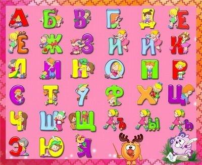 Алфавит в стихах для детей