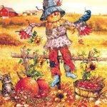 Короткие стихи про пугало для детей