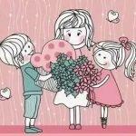 Маму крепко поцелую! - короткие детские стихи и поздравления для мамы