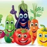 Овощи спорили до хрипоты… - веселые стихи для детей