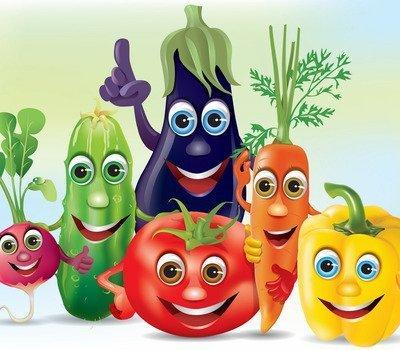 Овощи спорили до хрипоты… — веселые стихи для детей