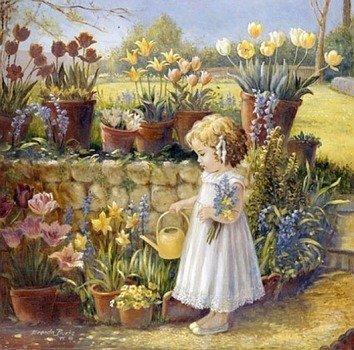 Цветики-цветочки — тематическая подборка для детей