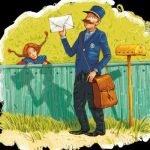 Почтальон — детские стихи о труде и профессиях