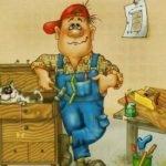 Столяр — детские стихи о труде и профессиях