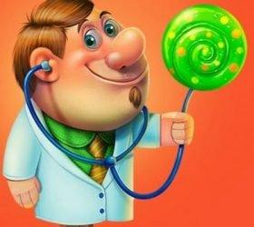 Доктор — детские стихи о труде и профессиях