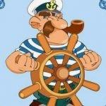 Моряк — детские стихи о профессиях