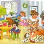 Первый раз в детский сад - стихи для детей