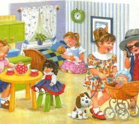 Первый раз - в детский сад - стихи для детей