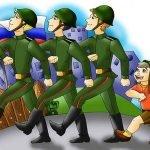 А я - в армию хочу! - детские стихи про солдат и армию