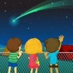 Кометы, метеоры, астероиды - стихи про космические тела и созвездия для детей