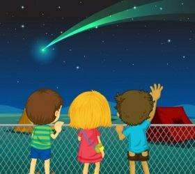 Кометы, метеоры, астероиды — стихи про космические тела и созвездия для детей