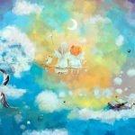 Вот плывут подружки-тучки.. - детские стихи про небо, облака и тучи