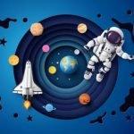 """""""Путешествие в космос"""" - сценарий большой командной игры  для детей"""