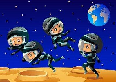 «Станем космонавтами!» — сценарий физкультурного праздника для детей 5-7 лет