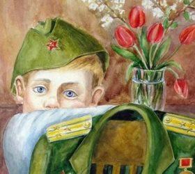 «Несовместимы дети и война…» — сценарий на День Победы для школьников