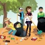 «Совместим веселое с полезным!» - программа субботника для детей