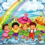 Кап, кап, кап! - короткие стихи о дожде
