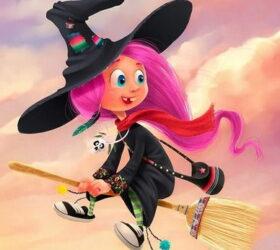 Хэллоуин с колдуньями - сценарий для детей